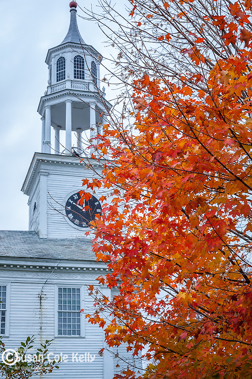 The United Baptist Church in East Poultney, VT, USA