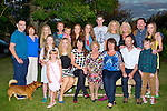 SPECIAL; Judy Leahy Ardfert who celebrated a special birthday at her sons home Michael Ardfert on Saturday evening. Front l-r: Siofra Murphy,Caoimhe and Fiona Leahy,Ciara Brosnan, Judy (birthday lady),Sandra and Michael Leahy and Harvey Brosnan. Back l-r: Georgie and Breda O'Flaherty,Saoirse Brosnan,Deirdre Leahy,Rían Murphy,Riadh Brosnan, Aoife,Séan and Helen Leahy, Phil,Garry and Tirna Brosnan.