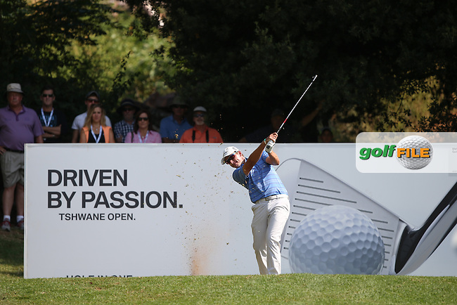 Dean Burmester (RSA) plays to the 16th during Round Three of the Tshwane Open 2015 at the Pretoria Country Club, Waterkloof, Pretoria, South Africa. Picture:  David Lloyd / www.golffile.ie. 14/03/2015