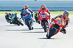 PHOTOCALL3000  Gran Premio TIM di San Marino during the moto world championship in Misano.<br /> 13-09-2014 in Misano world circuit Marco Simoncelli.<br /> MotoGP<br /> marc marquez<br /> andrea dovizioso<br /> PHOTOCALL3000
