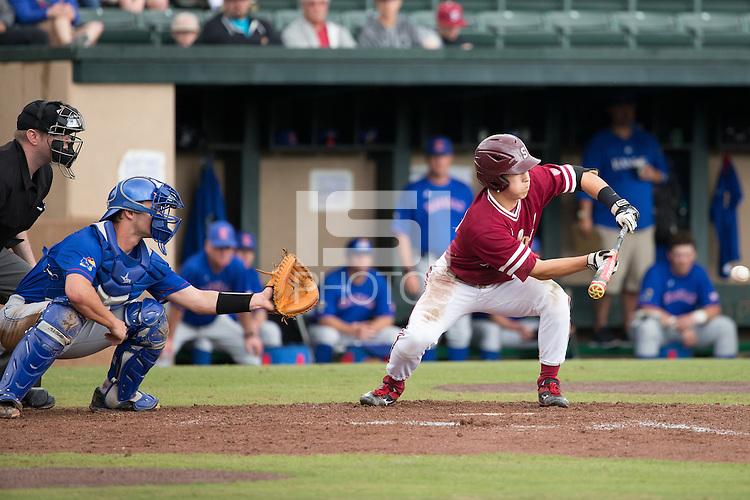 STANFORD, CA - March 20, 2016:  Stanford plays Kansas at Sunken Diamond. Stanford won 6-2.