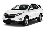 2019 Chevrolet Equinox LT 5 Door SUV angular front stock photos of front three quarter view