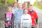 Enjoying the Hospice walk in Killorglin on Friday morning were Emma Houlihan, Marie O'Connor, Rachel O'Connor, Helen Houlihan, Shauna O'Connor and Aaron Houlihan....... ..........................