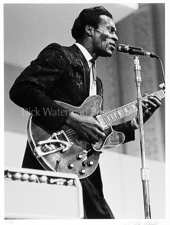 Chuck Berry, New York 1965