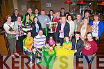 Donegal exiles who live in Kerry brought the Sam Maguire home to the Kingdom in Scotts bar Killarney on Saturday evening..