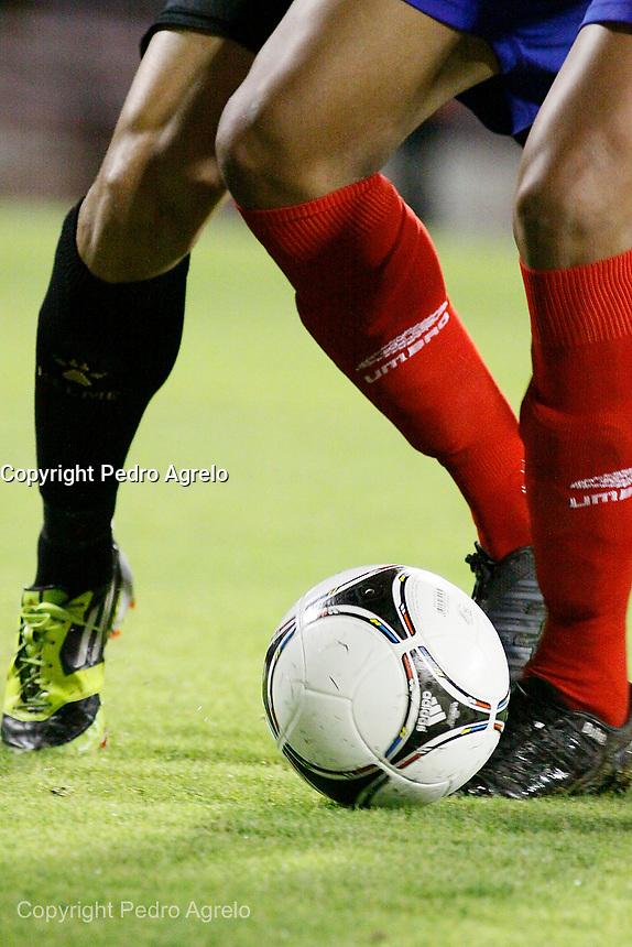 Fecha: 12-09-2012.Lugo Estadio Angel Carro. Partido de Copa del Rey C.D. Lugo - Racing de Santander