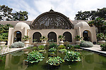 LOTUS POND AND SHADE HOUSE, BALBOA PARK, SAN DIEGO