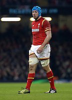 Justin Tipuric of Wales during the RBS 6 Nations Championship rugby game between Wales and Scotland at the Principality Stadium, Cardiff, Wales, UK Saturday 13 February 2016