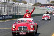 17th March 2019, Melbourne Grand Prix Circuit, Melbourne, Australia; Melbourne Formula One Grand Prix, race day; The number 16 Scuderia Ferrari driver Charles Leclerc