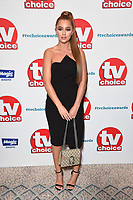 LONDON, UK. September 10, 2018: Georgia Steel at the TV Choice Awards 2018 at the Dorchester Hotel, London.<br /> Picture: Steve Vas/Featureflash