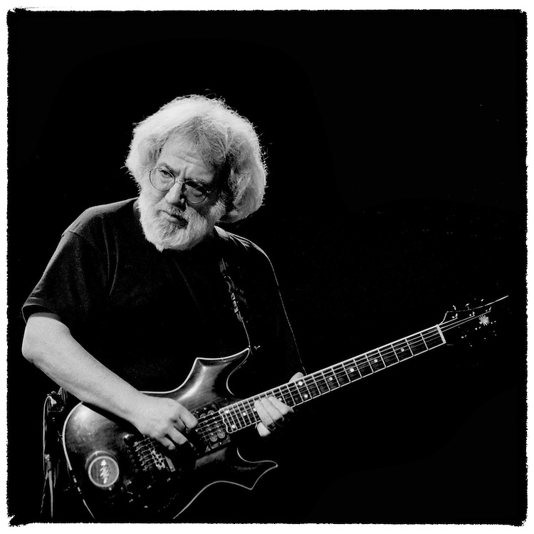 Jerry Garcia and his band The Grateful Dead played three consecutive nights in Phoenix March 4-6, 1994. Garcia died of a heart attack in August, 1995