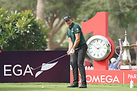 Henrik Stenson (SWE) during the first round of the Omega Dubai Desert Classic, Emirates Golf Club, Dubai, UAE. 24/01/2019<br /> Picture: Golffile | Phil Inglis<br /> <br /> <br /> All photo usage must carry mandatory copyright credit (&copy; Golffile | Phil Inglis)