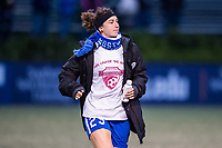 Boston, MA - Saturday September 30, 2017: Morgan Andrews during a regular season National Women's Soccer League (NWSL) match between the Boston Breakers and Sky Blue FC at Jordan Field.