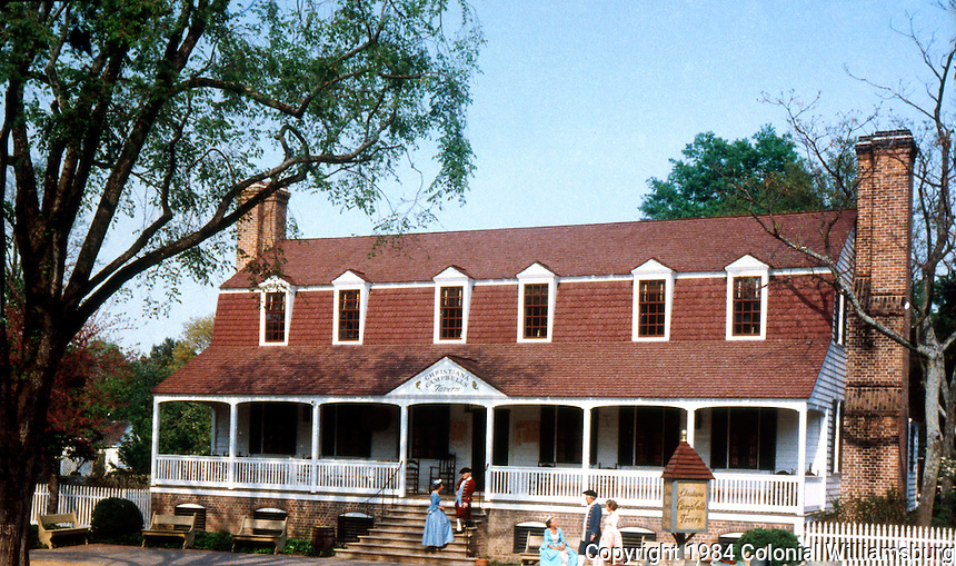 Williamsburg:   Campbell's Tavern.