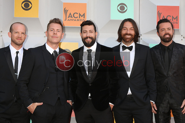 Old Dominion<br /> at the 2016 Academy of Country Music Awards Arrivals, MGM Grand Garden Arena, Las Vegas, NV 04-03-16<br /> David Edwards/DailyCeleb.com 818-249-4998