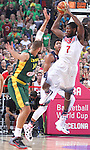 11.09.2014 Barcelona. FIBA Basketball World Cup. Semi-Finals. Picture show K. Faried in action during game Usa v Lithuania at Palau St. Jordi