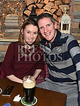 Brian and Orla Costello enjoying the New year weekend in The Weavers. Photo:Colin Bell/pressphotos.ie