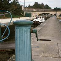 Europe/France/89/Bourgogne/Yonne/Env de Jussy: Ecluse de Belombre sur le canal de Nivernais