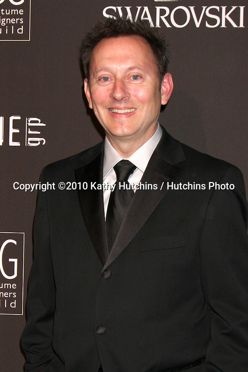 Michael Emerson .arriving at the 2010 Costume Designer's Guild Awards.Beverly Hilton Hotel.Beverly Hills, CA.February 25, 2010.©2010 Kathy Hutchins / Hutchins Photo....