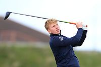 Alan Fahy (Dun Laoghaire) on the 5th tee during Round 1 of the The Amateur Championship 2019 at The Island Golf Club, Co. Dublin on Monday 17th June 2019.<br /> Picture:  Thos Caffrey / Golffile<br /> <br /> All photo usage must carry mandatory copyright credit (© Golffile | Thos Caffrey)