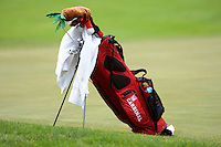 STANFORD, CA - APRIL 13:  Stanford Cardinal golf bags during the U.S. Intercollegiate on April 13, 2010 at the Stanford Golf Course in Stanford, California.