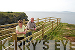Bromore Cliff Walk: Mike & Eilish Flahive pictured on theit new Walk at Bromore Cliffs , Beale, Ballybunion.