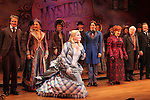 Peter Benson, Jessie Mueller, Betsy Wolfe, Stephanie J. Block, Chita Rivera, Jim Norton, Will Chase & Company during the Broadway Opening Night Performance Curtain Call for 'The Mystery of Edwin Drood' at Studio 54 in New York City on 11/13/2012