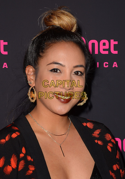 26 February 2014 - West Hollywood, California - Lanie Alabanza-Barcena. Arrivals for the Los Angeles series premiere launch party of Mnet's &quot;Alpha Girls&quot; at Greystone Manor in West Hollywood, Ca. <br /> CAP/ADM/BT<br /> &copy;Birdie Thompson/AdMedia/Capital Pictures