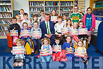 Mayor John Sheahan and Eileen Murphy presented certificates to the children who [participated in the Summer Stars Library, Reading Adventure in Castleisland Library on Saturday