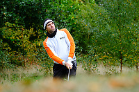 Oliver Wilson (ENG) during the final round of the Monaghan Irish Challenge, Concra Wood, Monaghan, Ireland. 7-10-2018.<br /> Picture Fran Caffrey / Golffile.ie<br /> <br /> All photo usage must carry mandatory copyright credit (© Golffile | Fran Caffrey)