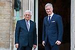 Mahmoud Abbas en visite en Belgique