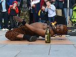 King Shah performing at the Droichead Arts Festival. Photo:Colin Bell/pressphotos.ie