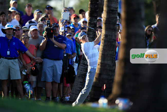 Jordan Speith (USA) during the 2nd round at the WGC Cadillac Championship, Blue Monster, Trump National Doral, Doral, Florida, USA<br /> Picture: Fran Caffrey / Golffile