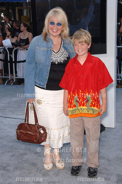 "Actress ROSEANNE BARR & son BUCK THOMAS at the world premiere of ""Superman Returns"" in Los Angeles..June 21, 2006  Los Angeles, CA.© 2006 Paul Smith / Featureflash"