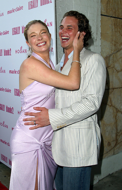 "Leann Rimes and husband arriving at the premiere of ""Legally Blonde 2: Red White & Blonde"" in Southampton, New York, June 28, 2003. Please byline: NY Photo Press.   ..*PAY-PER-USE*      ....NY Photo Press:  ..phone (646) 267-6913;   ..e-mail: info@nyphotopress.com......Shoshanna"