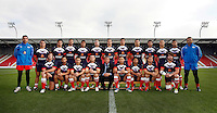 PICTURE BY VAUGHN RIDLEY/SWPIX.COM...Rugby League - International Friendly - England Knights v France - Leigh Sports Village, Leigh, England - 15/10/11…France Team Group.