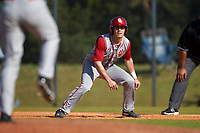 Indiana Hoosiers second baseman Tony Butler (4) during a game against the Illinois State Redbirds on March 4, 2016 at North Charlotte Regional Park in Port Charlotte, Florida.  Indiana defeated Illinois State 14-1.  (Mike Janes/Four Seam Images)