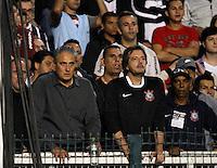 SÃO PAULO,SP,23 MAIO 2012 - COPA SANTANDER LIBERTADORES - CORINTHIANS x VASCO - O tecnico Tite  do Corinthians ve o jogo da arquibancada depois de ser expulso da partida Corinthians x Vasco  válido pela oitavas de final  da Copa Santander Libertadores no Estádio Paulo Machado de Carvalho (Pacaembu), na zona oeste de São Paulo na noite desta quarta feira 23). (FOTO: ALE VIANNA -BRAZIL PHOTO PRESS).