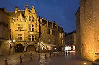 Europe/France/Aquitaine/24/Dordogne/Périgord Noir/Sarlat-la-Canéda: La maison de La Boéti e-  La maison de La Boétie construite en 1525 par Antoine de La Boétie, elle a vu naître Etienne de La Boétie