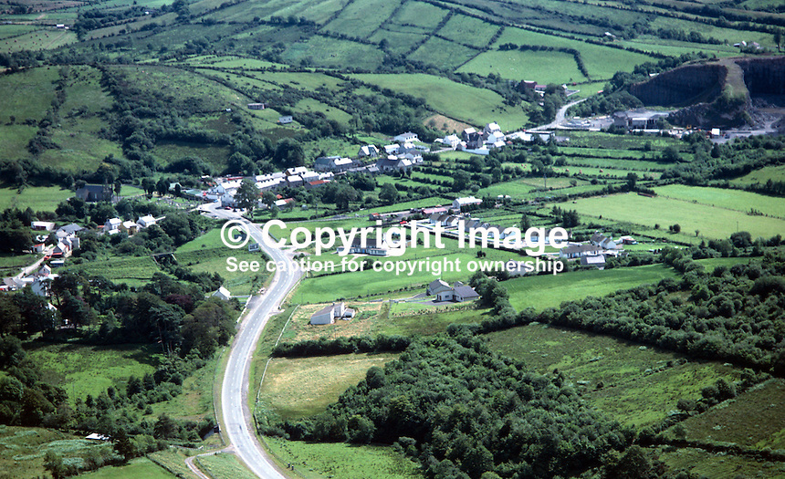 Aerial photograph, Laghey, Co Donegal, Rep of Ireland, 19790185a..Copyright Image from Victor Patterson, 54 Dorchester Park, Belfast, UK, BT9 6RJ..Tel: +44 28 9066 1296.Mob: +44 7802 353836.Voicemail +44 20 8816 7153.Skype: victorpattersonbelfast.Email: victorpatterson@me.com.Email: victorpatterson@ireland.com (back-up)..IMPORTANT: If you wish to use this image or any other of my images please go to www.victorpatterson.com and click on the Terms & Conditions. Then contact me by email or phone with the reference number(s) of the image(s) concerned.