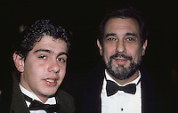 Placido Domingo &amp; Son 1986 By Jonathan <br />