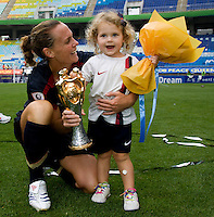 Rylie Rampone, Christie Rampone. The USWNT defeated Canada, 1-0, at Suwon World Cup Stadium in Suwon, South Korea, to win the Peace Queen Cup.