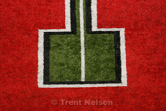 Trent Nelson  |  The Salt Lake Tribune. during the first half, Utah vs. TCU college football, Saturday, November 6, 2010.