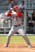Indiana Hoosiers Wes Wilson #5 during a game vs UMass at Lake Myrtle Main Field in Auburndale, Florida;  March 16, 2011.  Indiana defeated UMass 11-10.  Photo By Mike Janes/Four Seam Images