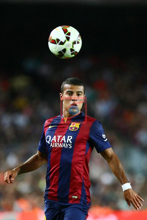 49e Trofeu Joan Gamper.<br /> FC Barcelona vs Club Leon FC: 6-0.<br /> Rafinha.