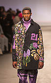 Monday, 7 January 2013. London, United Kingdom. Topman and Fashion East/MAN present a collection by Astrid Andersen in a catwalk show at London Collections: Men. Menswear fashion event which used to be part of London Fashion Week. Photo credit: CatwalkFashion/Alamy Live News