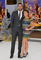 Gina Rodriguez &amp; Zachary Levi at the world premiere for &quot;The Star&quot; at the Regency Village Theatre, Westwood. Los Angeles, USA 12 November  2017<br /> Picture: Paul Smith/Featureflash/SilverHub 0208 004 5359 sales@silverhubmedia.com