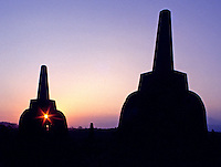 The Images from the Book Journey through Color and Time, 2006, Indonesia, The temples of Borobudur
