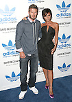 David Beckham & Victoria Beckham at the launch of the adidas Originals by Originals David Beckham on Melrose Avenue in Los Angeles, California on September 30,2009                                                                   Copyright 2009 DVS / RockinExposures