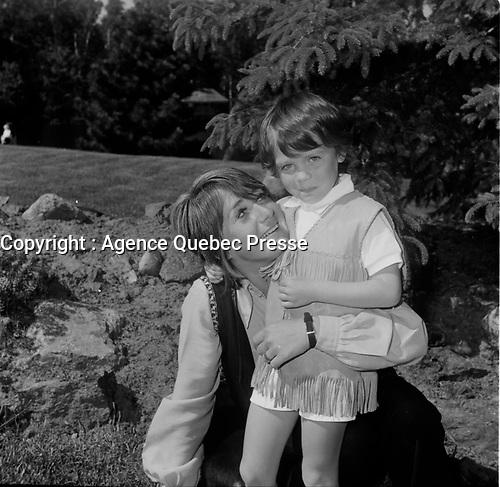 Ginette Ravel<br /> <br /> (date inconnue, avant 1984),<br /> <br /> Photo : Agence Quebec Presse - Roland Lachance